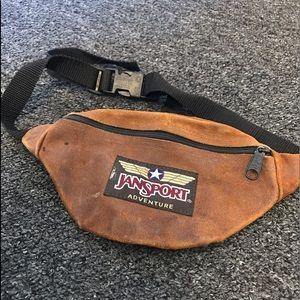 Vintage Leather Adventure Fanny Pack